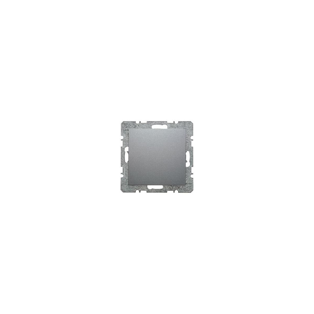 Wyłącznik krzyżowy Berker B.1/B.3/B.7 aluminium mat (3037+16201404)
