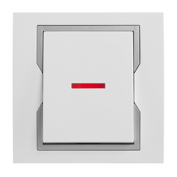 Wyłącznik podświetlany pojedynczy QUATTRO System™