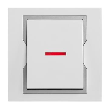 Wyłącznik podświetlany schodowy QUATTRO System™