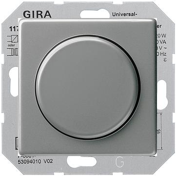 Ściemniacz obrotowy uniwersalny 50-420 W Gira E22