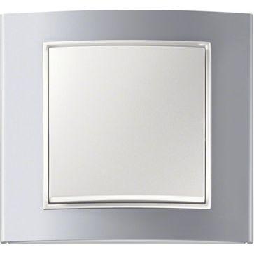 Ramki Berker B.3 aluminium