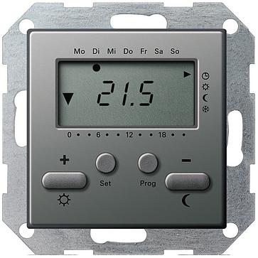 Regulator temperatury z wyświetlaczem Gira E22