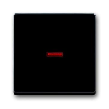 Wyłącznik pojedynczy podświetlany seria Carat