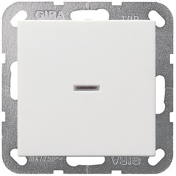 Wyłącznik podświetlany krzyżowy Gira System 55