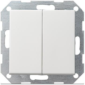 Przyciski podwójny dzwonek Gira System 55