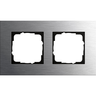 Ramka podwójna metal Gira ESPRIT