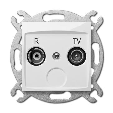 Gniazdo antenowe TV + R CARLA