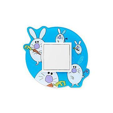 Efapel ramka dziecięca niebieskie króliki