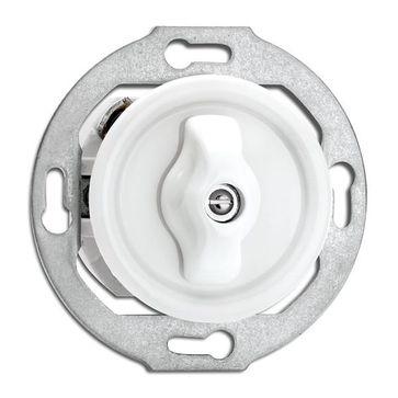 Wyłącznik podwójny obrotowy THPG porcelana