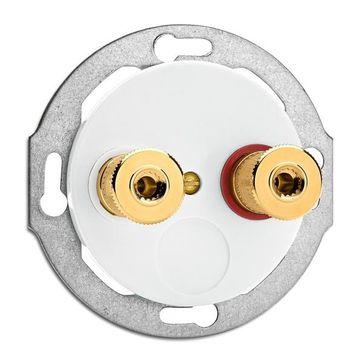 Gniazdo głośnikowe WBT THPG porcelana