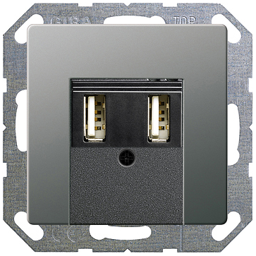 Gniazdo USB GIRA E22
