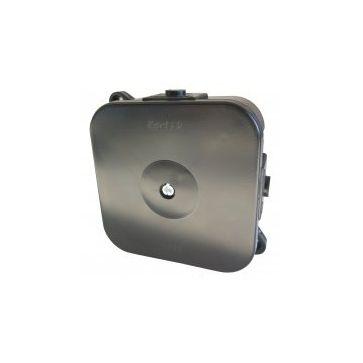 Puszka instalacyjna hermetyczna KARLIK ze złączkami 80x80mm