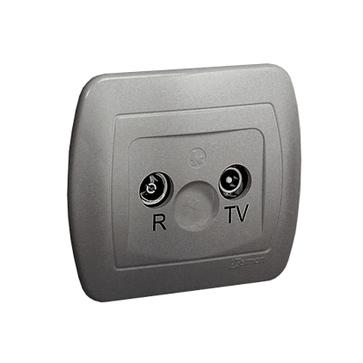 Gniazdo antenowe RTV końcowe AKORD