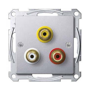 Gniazdo audio-wideo Merten System M