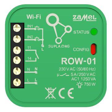 Odbiornik Wi-Fi dopuszkowy 1-kanałowy Zamel Supla ROW-01