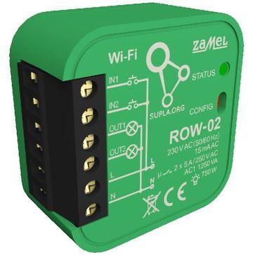 Odbiornik Wi-Fi dopuszkowy 2-kanałowy Zamel Supla ROW-02