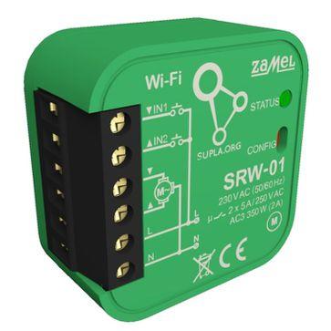 Odbiornik Wi-Fi dopuszkowy żaluzjowy Zamel Supla SRW-01