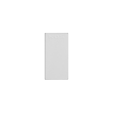Zaślepka modułowa (22,5x45) biała COSMO 45x45