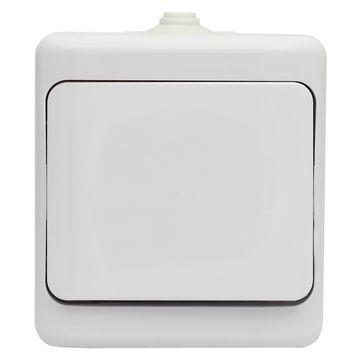 Wyłącznik pojedynczy BRYZA biały
