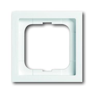 Ramka pojedyncza ABB future linear davos / biały studyjny