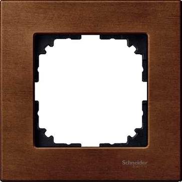 Ramka 1-krotna Merten SYSTEM M-ELEGANCE drewno