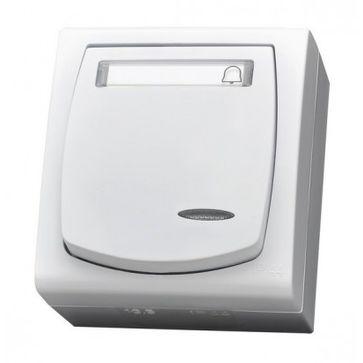 Przycisk dzwonek podświetlany MADERA