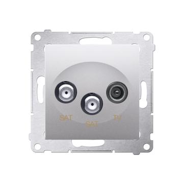 Gniazda antenowe R-TV-2xSAT SIMON 54