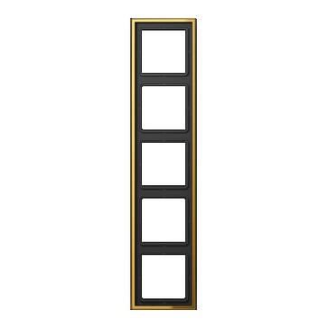 JUNG ramka pięciokrotna złota