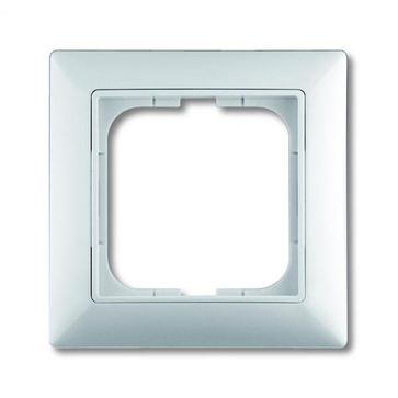 Ramka pojedyncza ABB Basic 55 biały alpejski