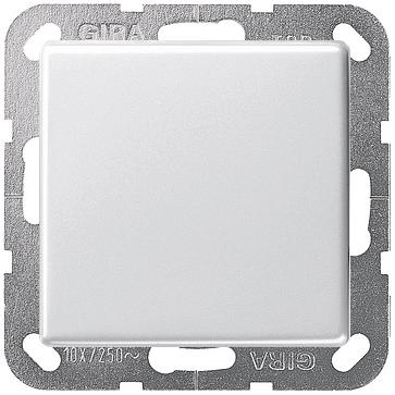 Wyłącznik uniwersalny przyciskowy E22 biały połysk