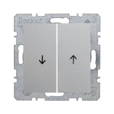 Wył. żaluzjowy Berker B.1/B.3/B.7 aluminium mat