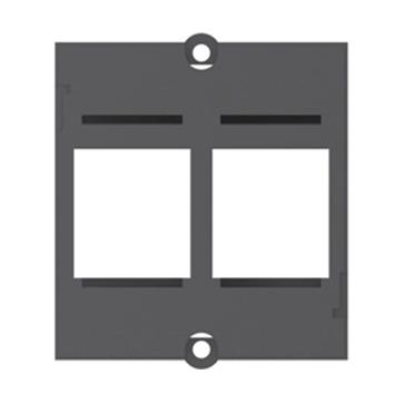 Adapter do gniazd w standardzie Keystone podwójny