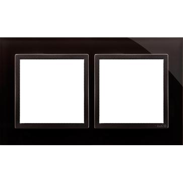 Ramka podw. SIMON 54 NATURE szklana zastygła lawa