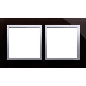 Ramka podw. SIMON 54 NATURE szklana księżycowa lawa