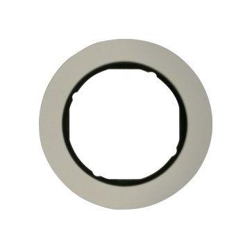 Ramka pojedyncza Berker R.classic metal aluminium / czarny połysk