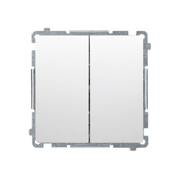 Wyłącznik podświetlany schodowy podwójny BASIC moduł