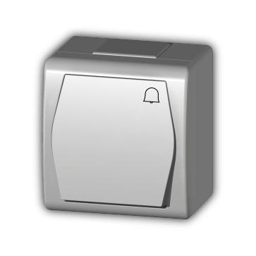 Przycisk dzwonek natynkowy HERMES 2