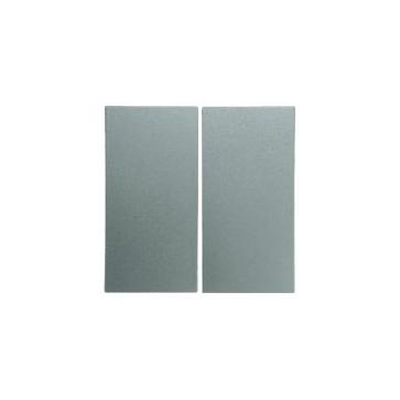 Wyłącznik podwójny schodowy Berker B.1/B.3/B.7 aluminium mat