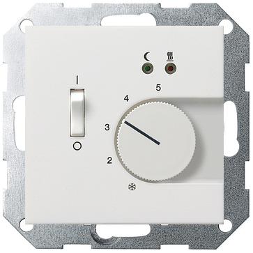 Pokojowy regulator temperatury - biały połysk
