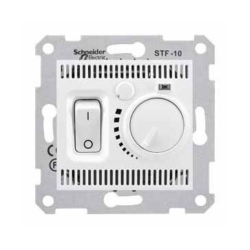 Podłogowy regulator temperatury SEDNA biały