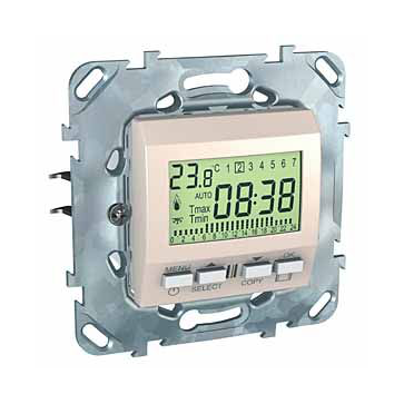 Regulator temperatury elektroniczny Unica piaskowy