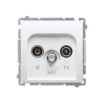 Gniazdo antenowe końcowe RTV-SAT BASIC moduł