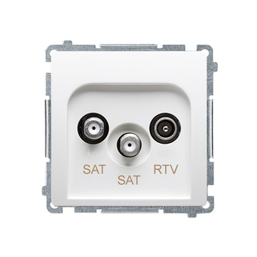 Gniazdo antenowe RTV-SAT-SAT końcowe BASIC moduł