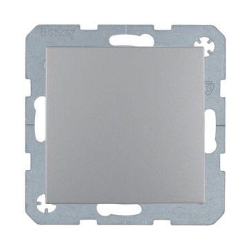 Przycisk dzwonek/światło B.Kwadrat/B.3/B.7- aluminium mat