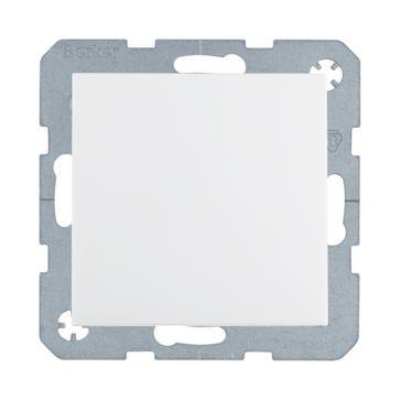 Przycisk dzwonek/światło B.Kwadrat/B.3/B.7- biały mat