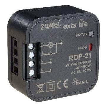 Radiowy ściemniacz dopuszkowy Zamel Exta Life RDP-21