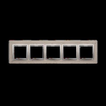 ramka pi ciokrotna simon 54 nature beton butti cementi drn5 92. Black Bedroom Furniture Sets. Home Design Ideas