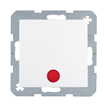 Wyłącznik podświetlany krzyżowy B.Kwadrat/B.3/B.7