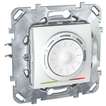 Regulator temperatury manualny  Unica Plus biel polarna